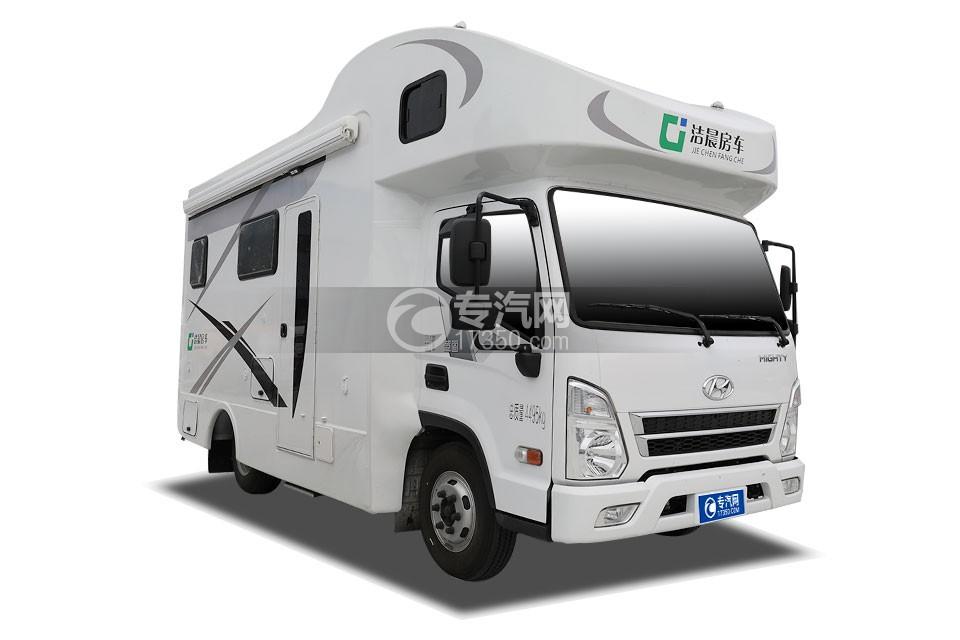 四川現代C型房車