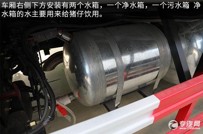 东风多利卡D9雏禽运输车评测水箱