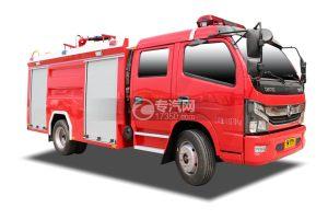 东风凯普特双排国六泡沫消防车