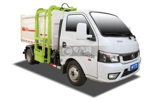 國六東風途逸自裝卸式垃圾車