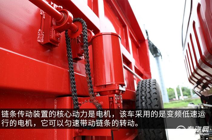 大運新奧普力國六自卸式垃圾車評測電機