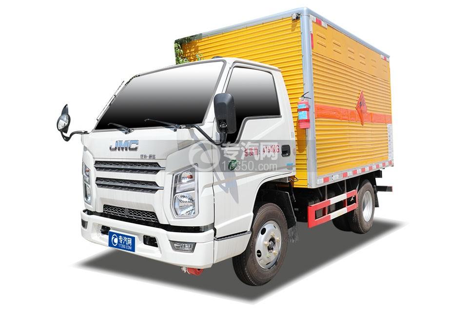 江铃顺达国六3.11米爆破器材运输车