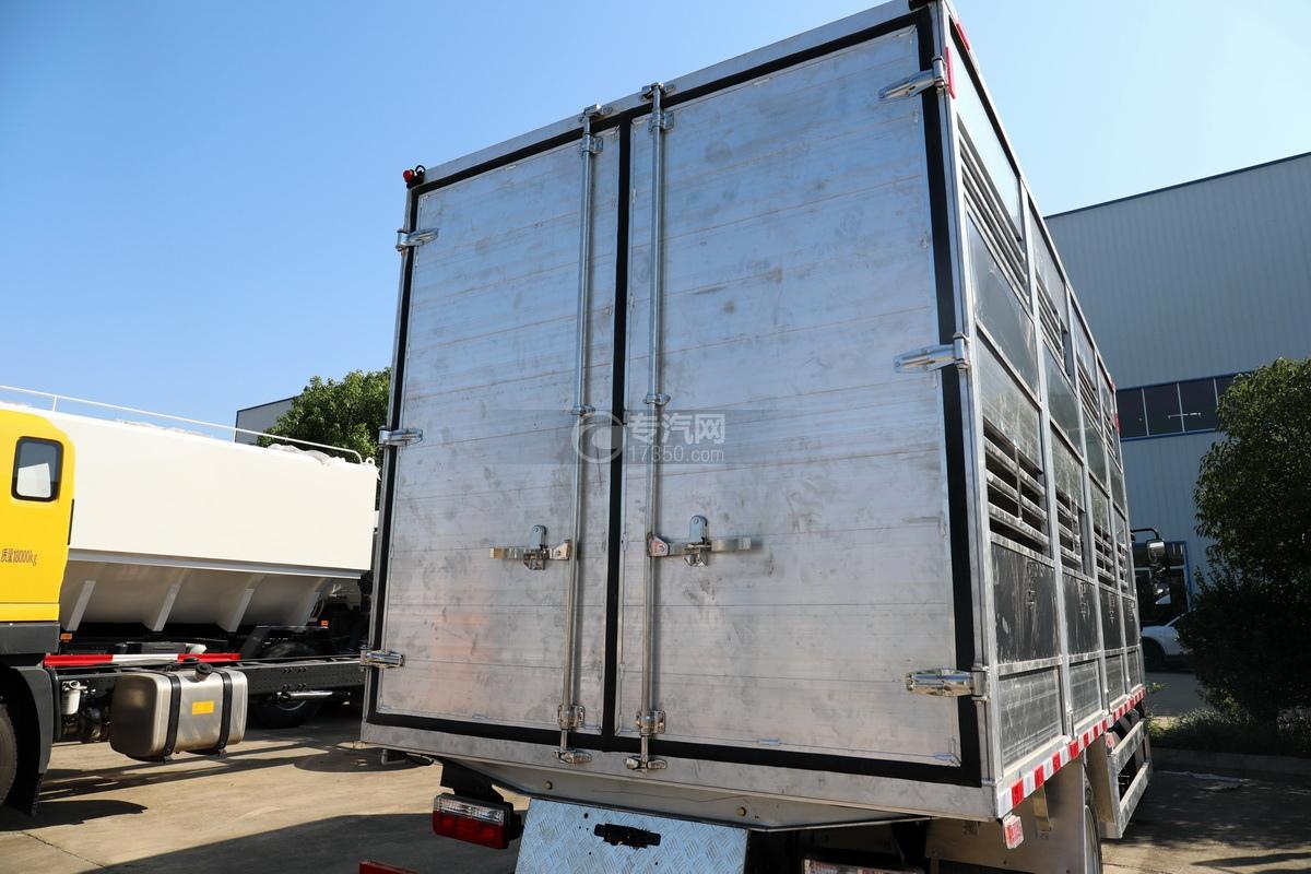 东风多利卡D7国六畜禽运输车后门