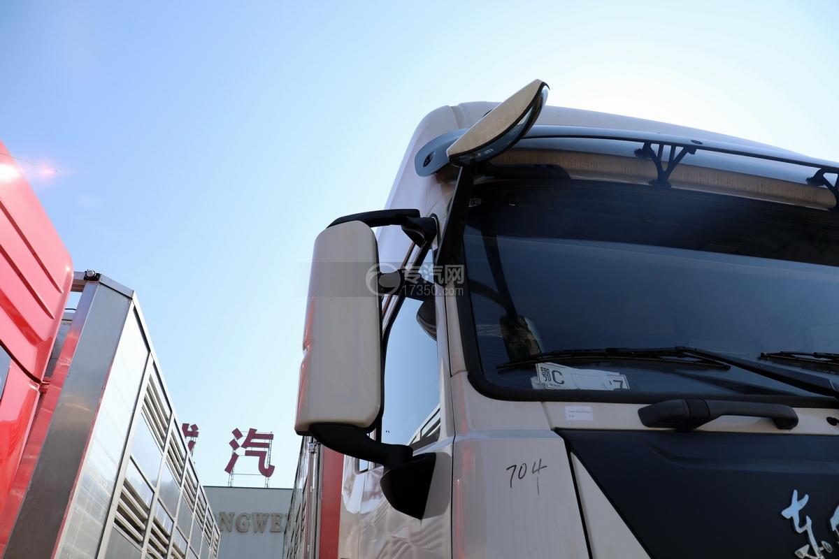 东风天龙KL前四后八国六畜禽运输车后视镜