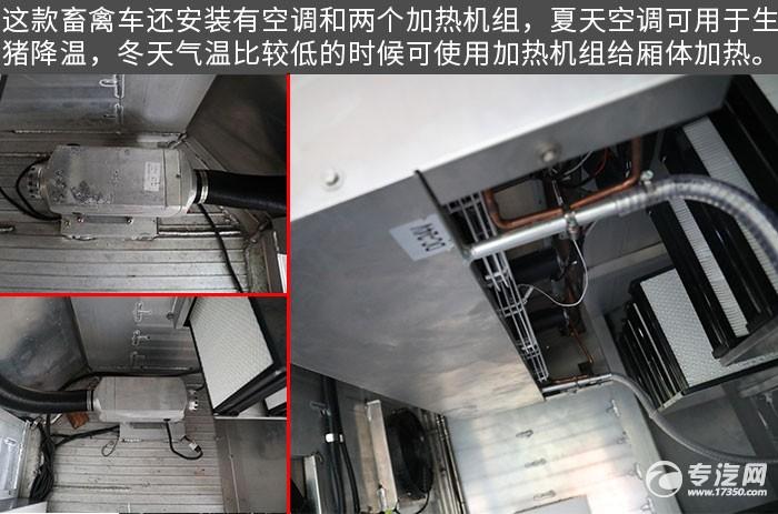 东风天龙VL前四后八畜禽运输车评测细节