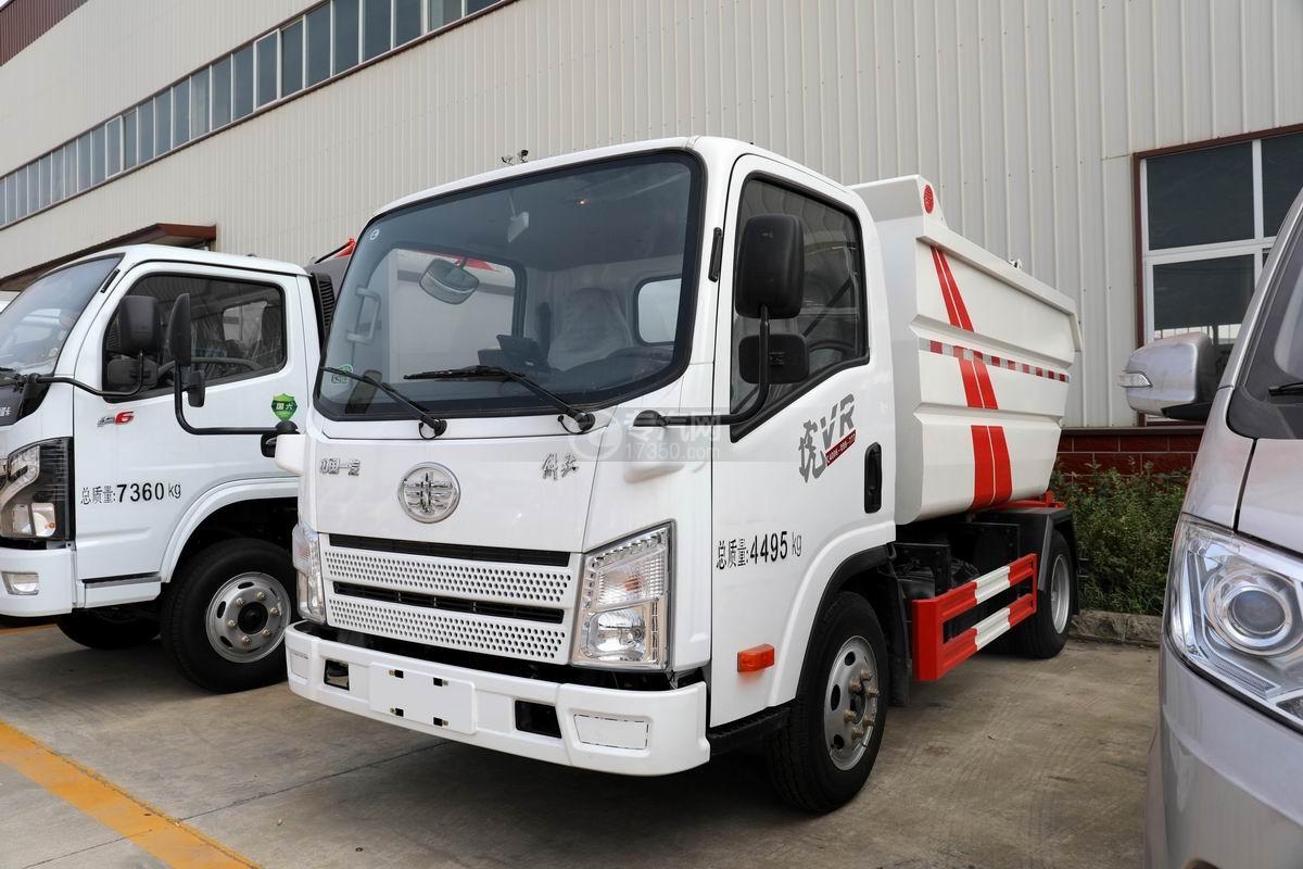 解放虎VR國六無泄漏自裝卸式垃圾車圖片