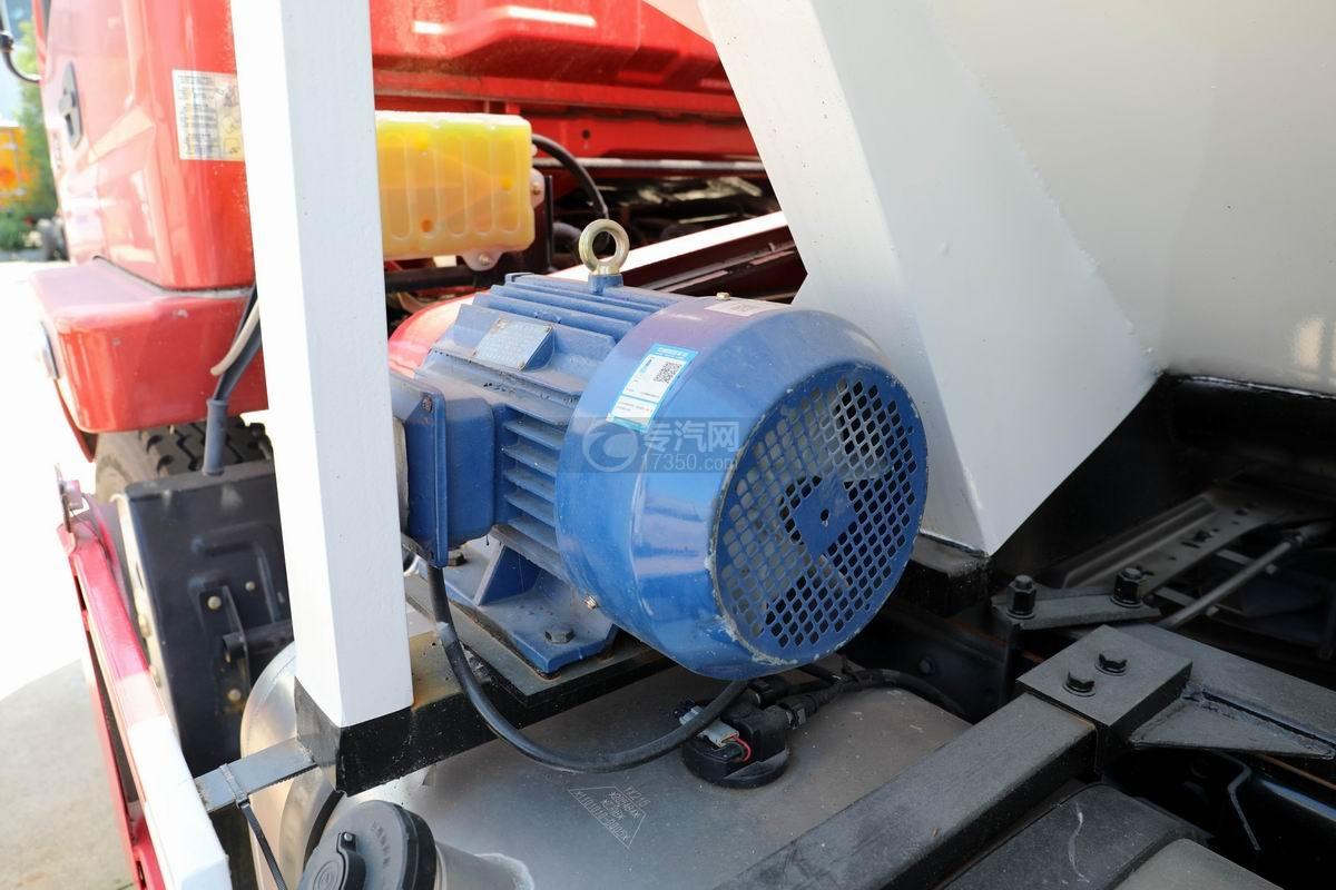 奥驰V3国六散装饲料运输车电机