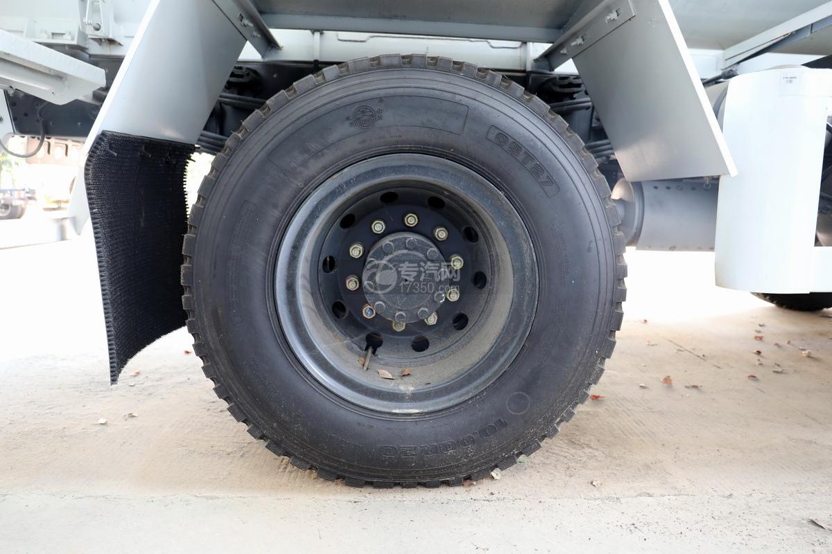 东风华神F5小三轴国五5.98方搅拌车轮胎