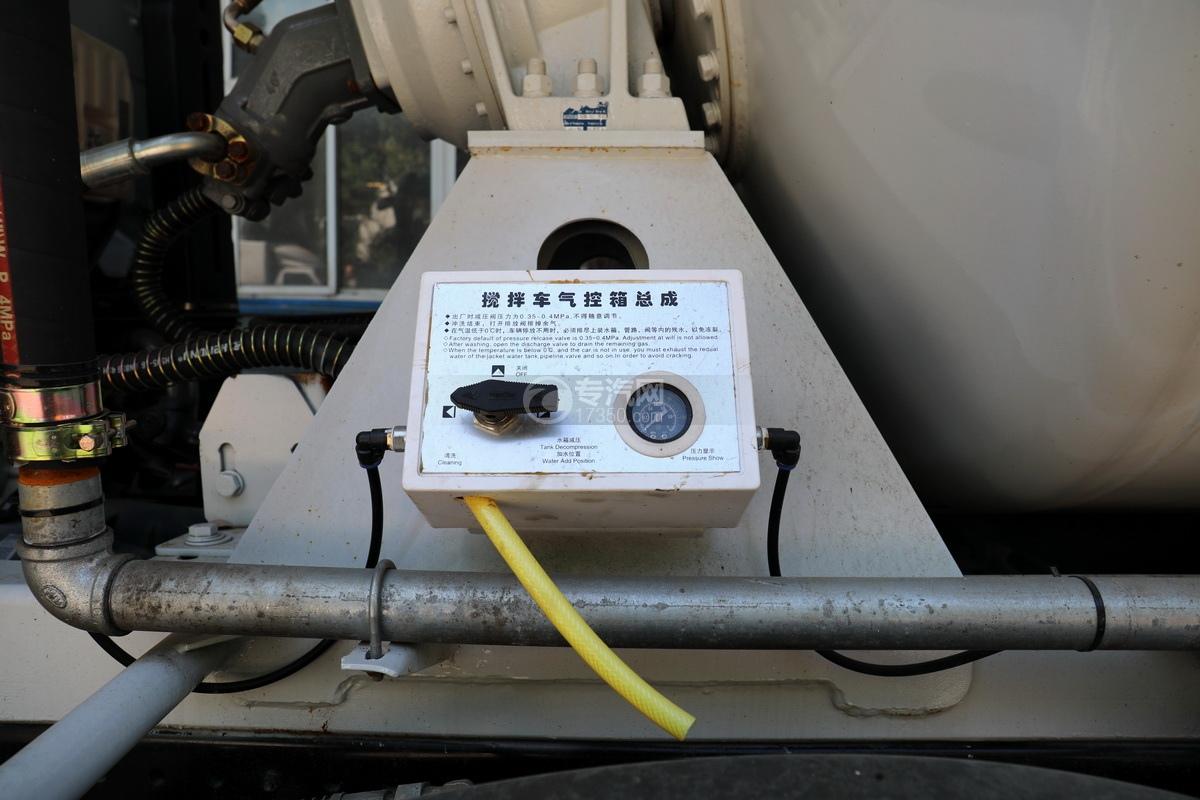 东风华神F5小三轴国五5.98方搅拌车气控箱总成