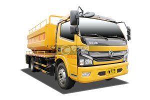 东风凯普特K7国六清洗吸污车(黄色)