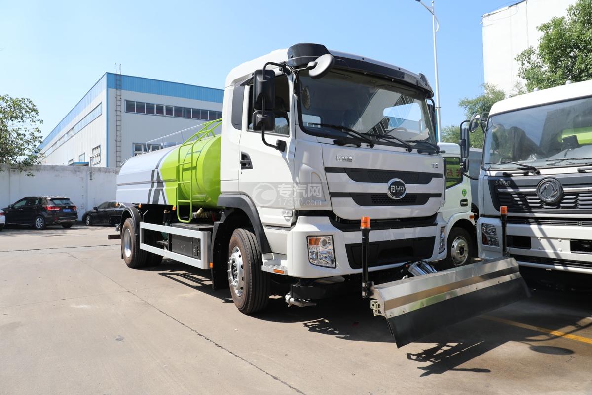 比亚迪T8纯电动路面清洗车