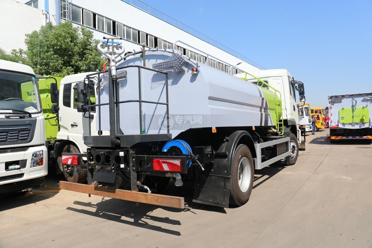 比亚迪T8纯电动路面清洗车右后图