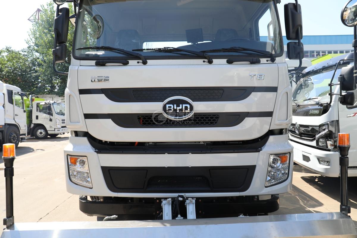 比亚迪T8纯电动路面清洗车进气格栅