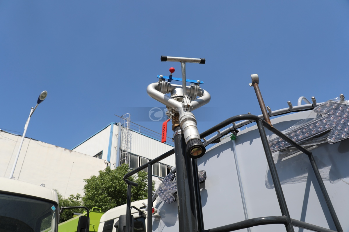 比亞迪T8純電動8.46方路面清洗車灑水炮