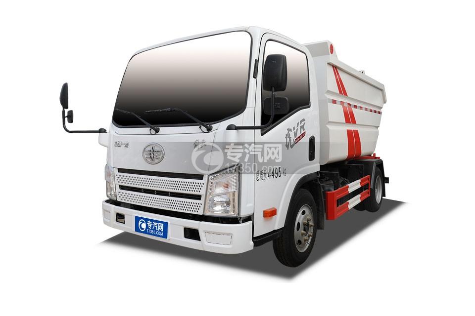 解放虎VR国六无泄漏自装卸式垃圾车