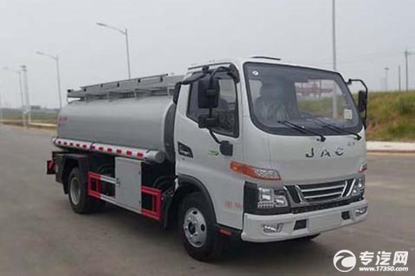 江淮駿鈴V6國六5.7方供液車