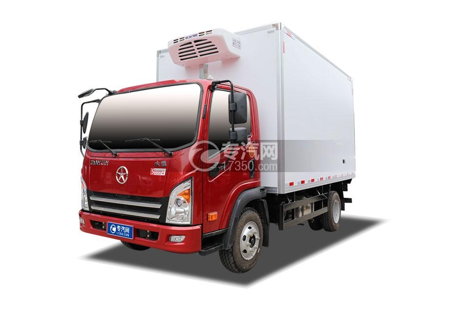 大运新奥普力国五4.05米冷藏车