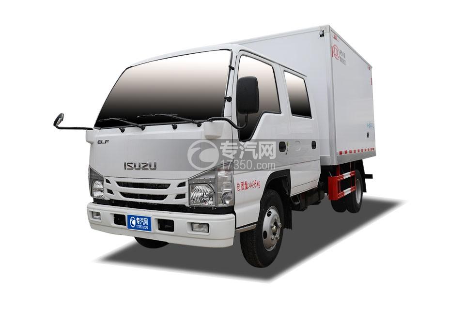 五十铃ELF双排国六3.15米冷藏车