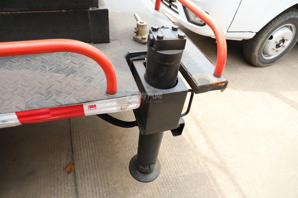 唐駿賽菱F3-1國六8米升降平臺式高空作業車液壓鎖