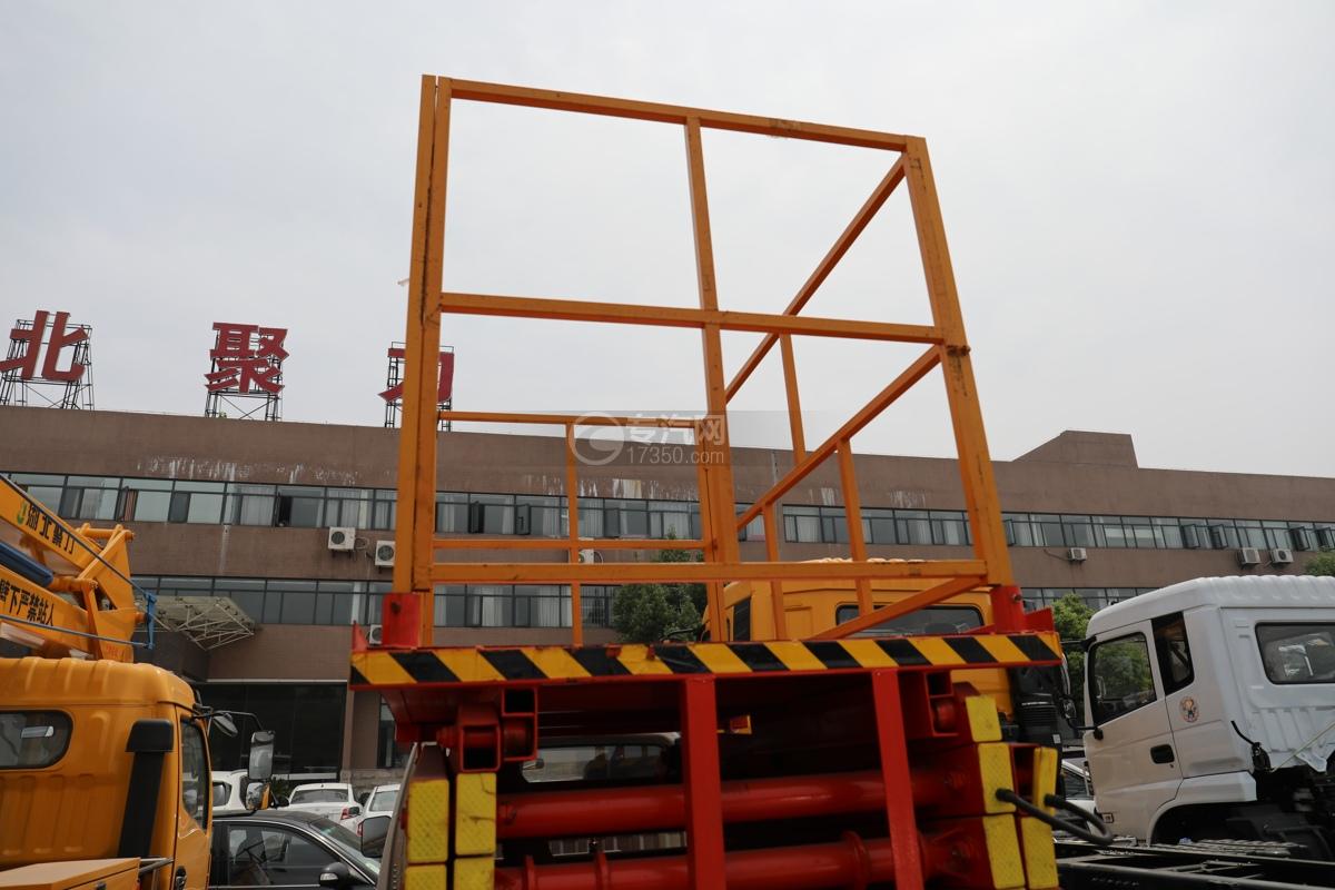 唐駿賽菱F3-1國六8米升降平臺式高空作業車工作平臺