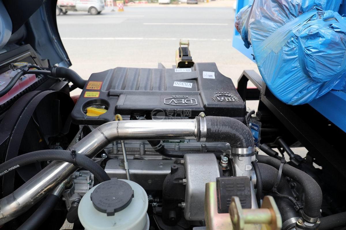 東風福瑞卡F6國六自卸式垃圾車發動機
