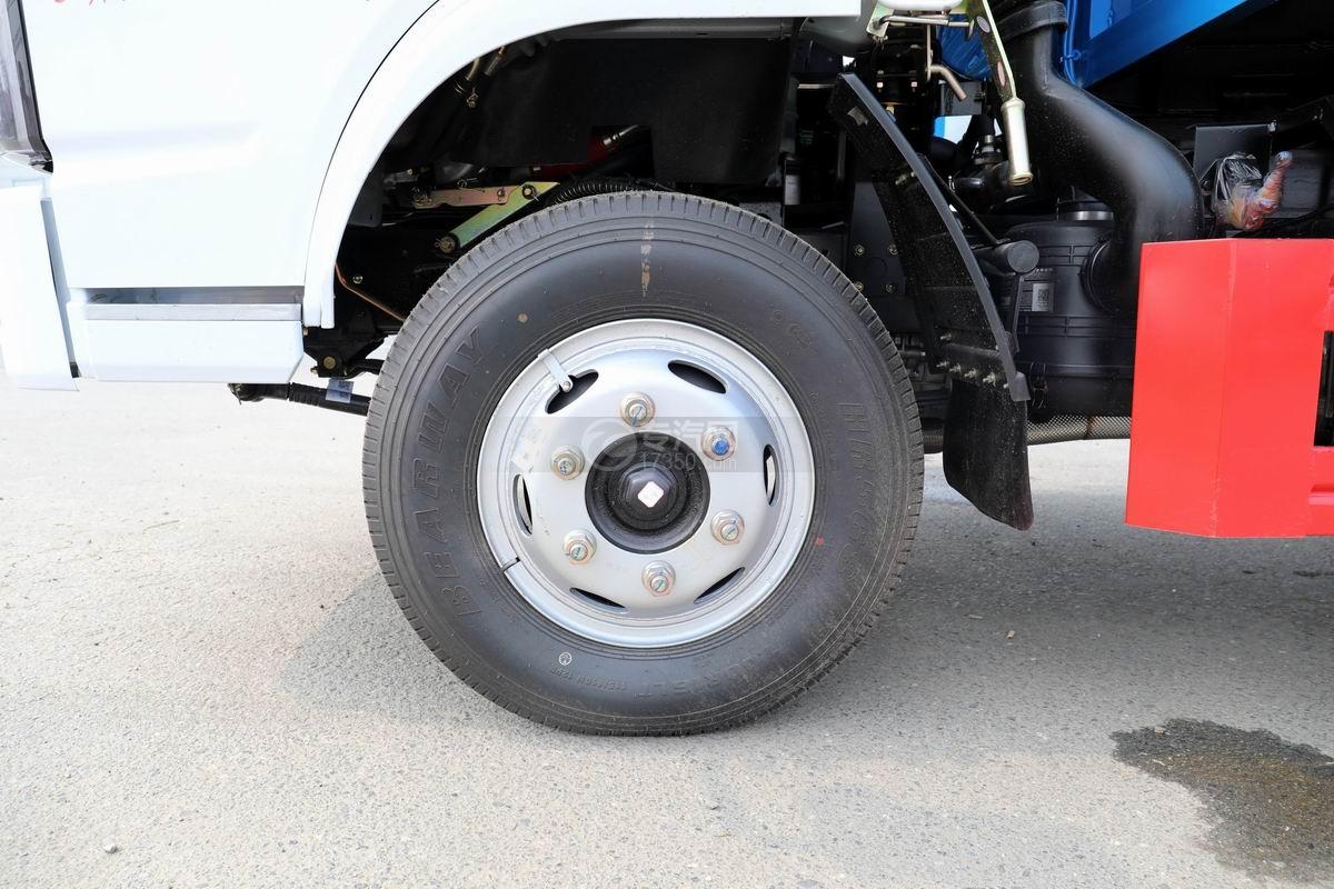 東風福瑞卡F6國六自卸式垃圾車輪胎