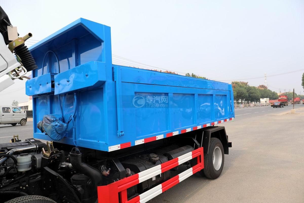 東風福瑞卡F6國六自卸式垃圾車上裝箱體