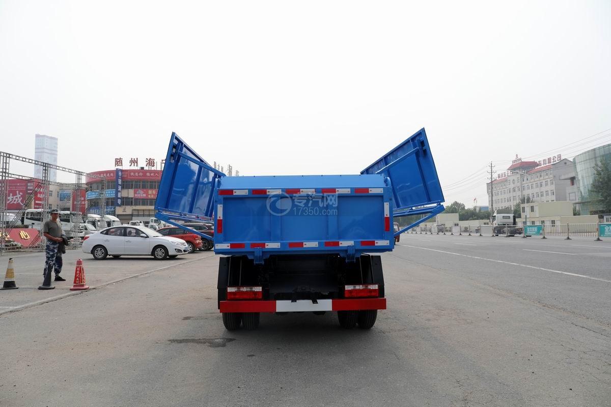 東風福瑞卡F6國六自卸式垃圾車上裝翼展蓋