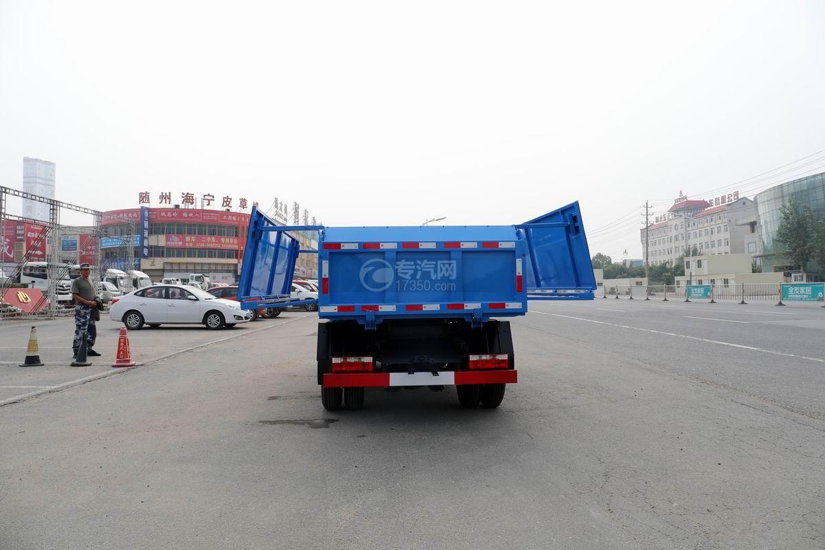 東風福瑞卡F6國六自卸式垃圾車上裝伸展圖