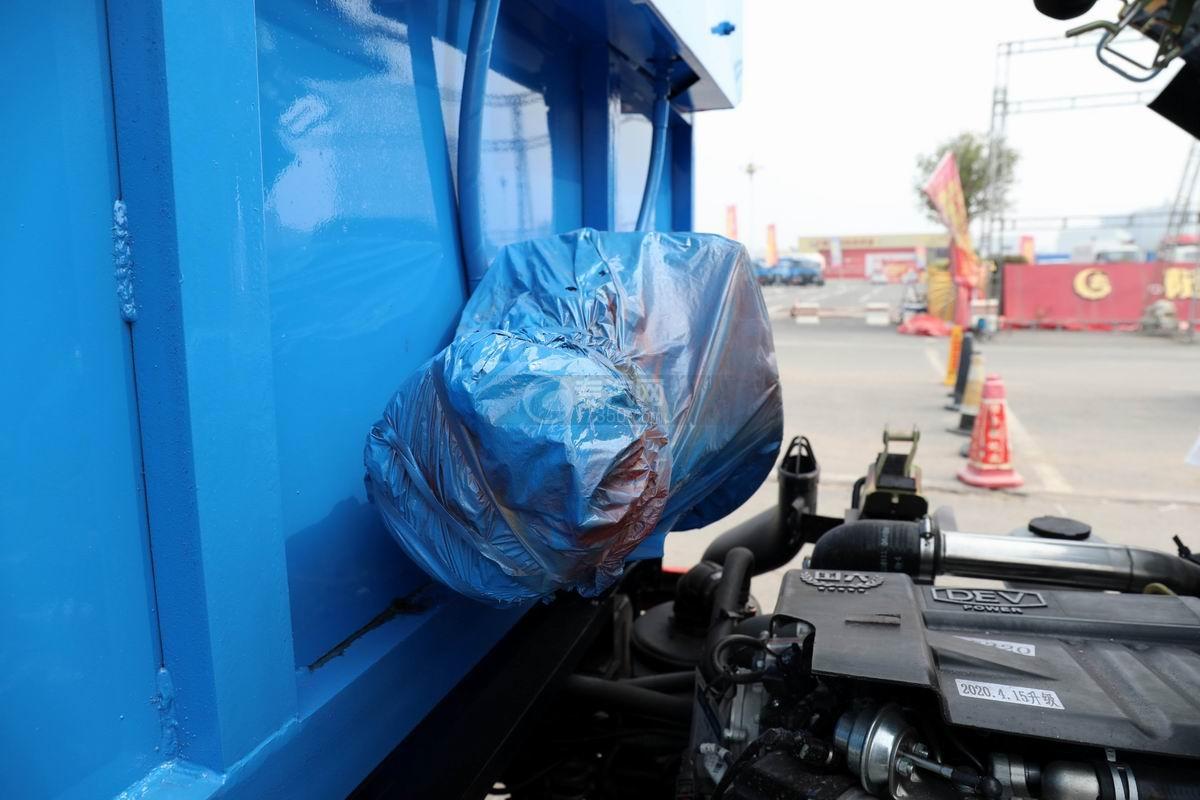 東風福瑞卡F6國六自卸式垃圾車細節