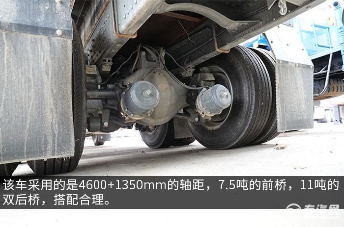 重汽豪沃T5G后雙橋國五17方供液車評測