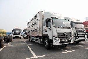 福田欧航单桥畜禽运输车图片