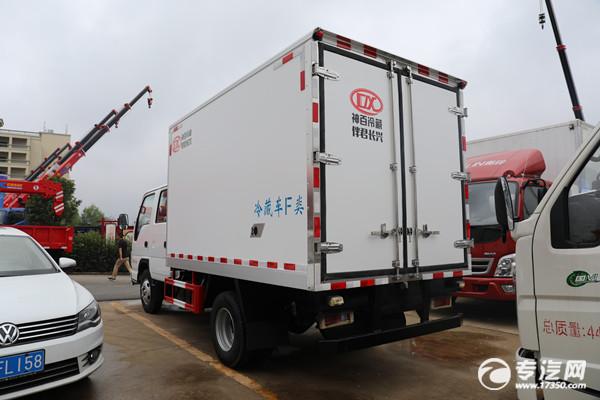 五十鈴ELF雙排國六3.15米冷藏車