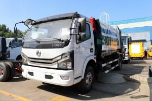 东风多利卡D7国六压缩式垃圾车图片