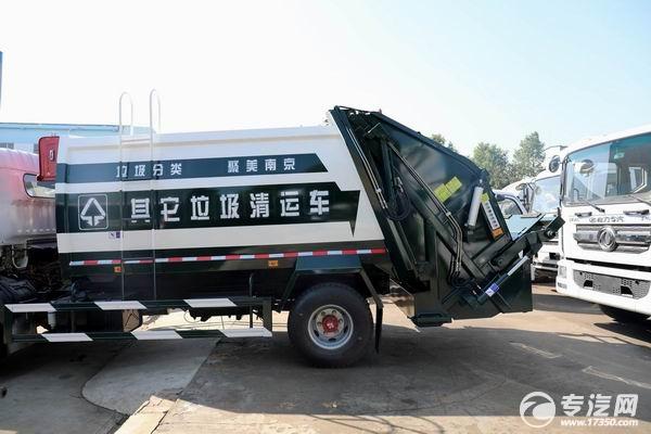 東風多利卡D7國六壓縮式垃圾車