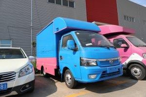 東風途逸國六售貨車(藍色)圖片