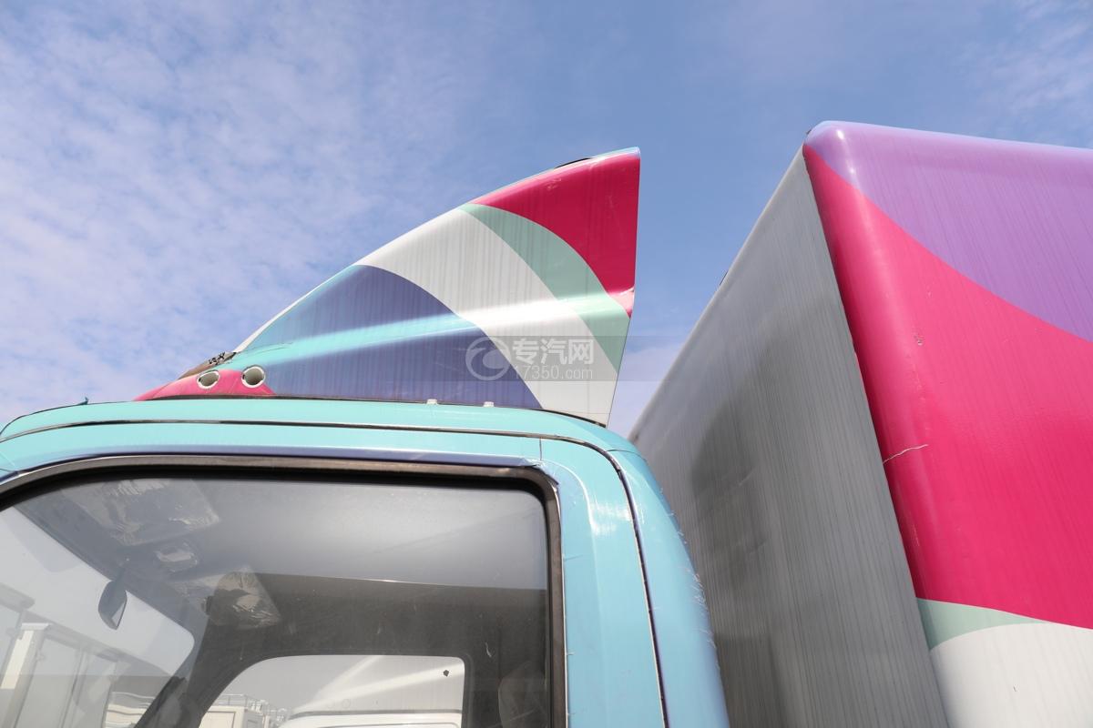福田欧马可E3513售货车导流罩