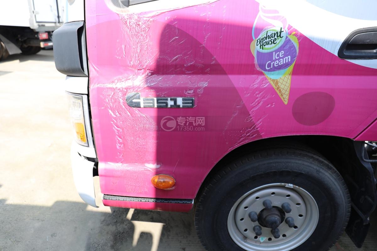 福田欧马可E3513售货车门标图