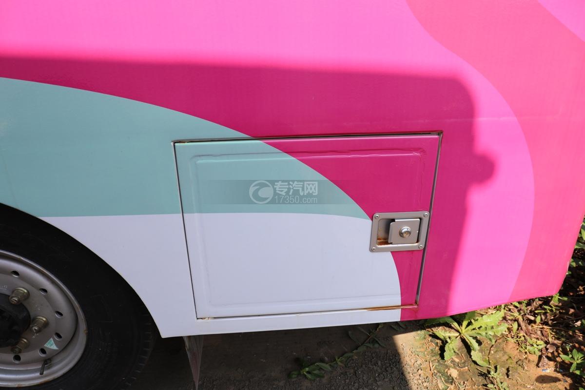 福田欧马可E3513售货车工具箱