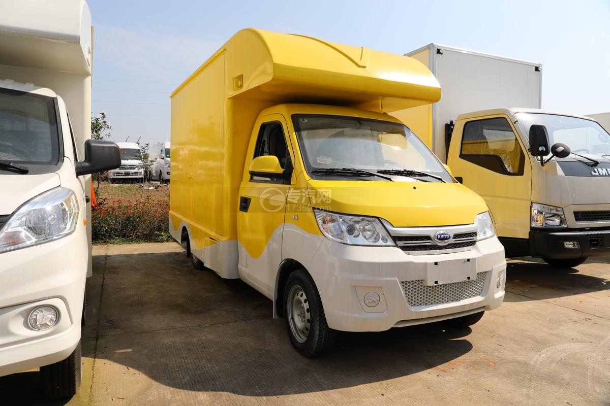開瑞國六移動售貨車(黃色)圖片
