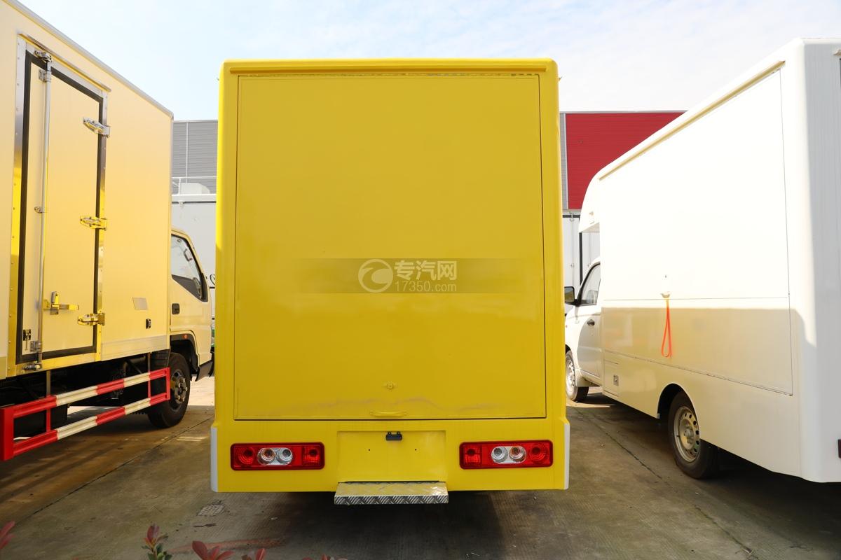 开瑞国六移动售货车车尾图