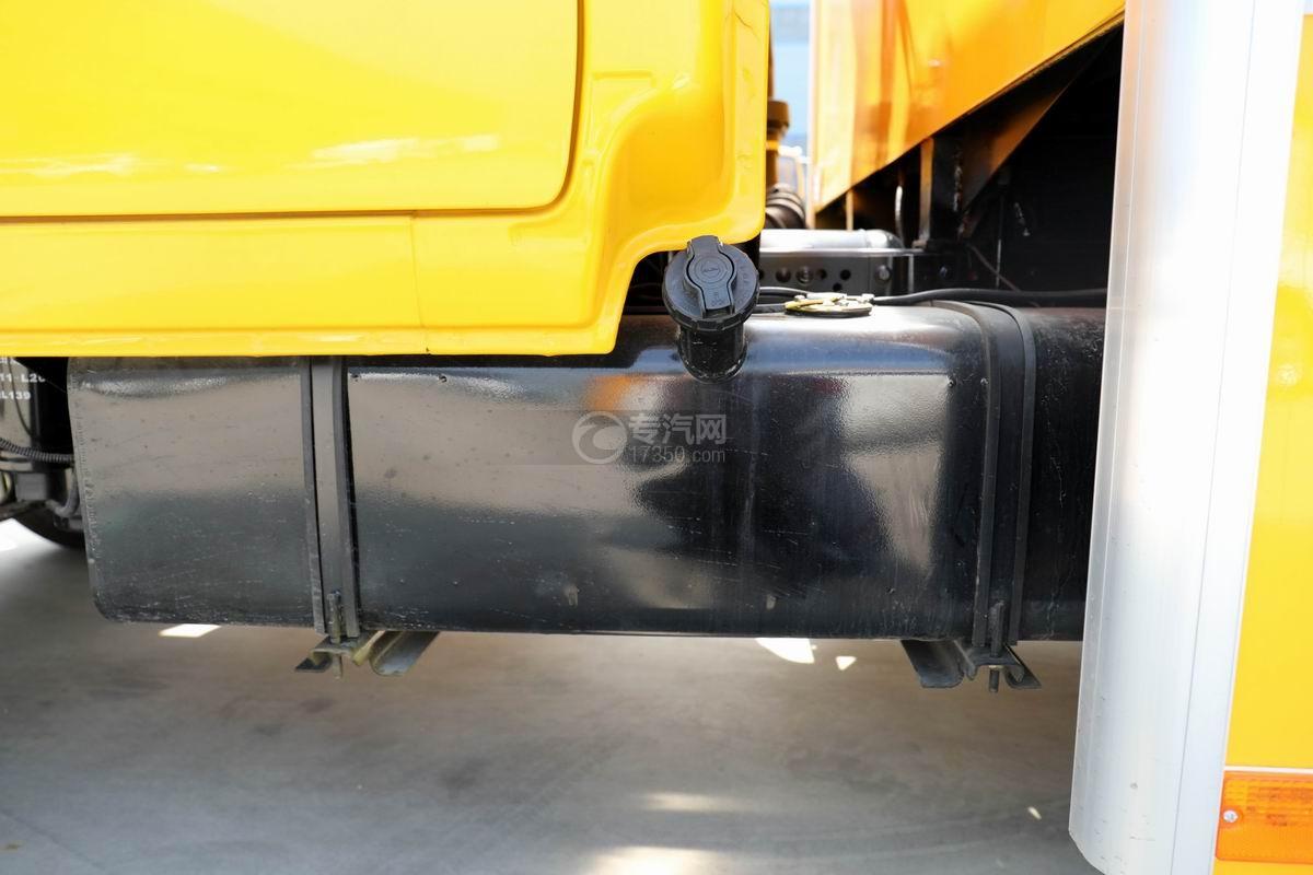 慶鈴五十鈴ELF雙排救險車油箱