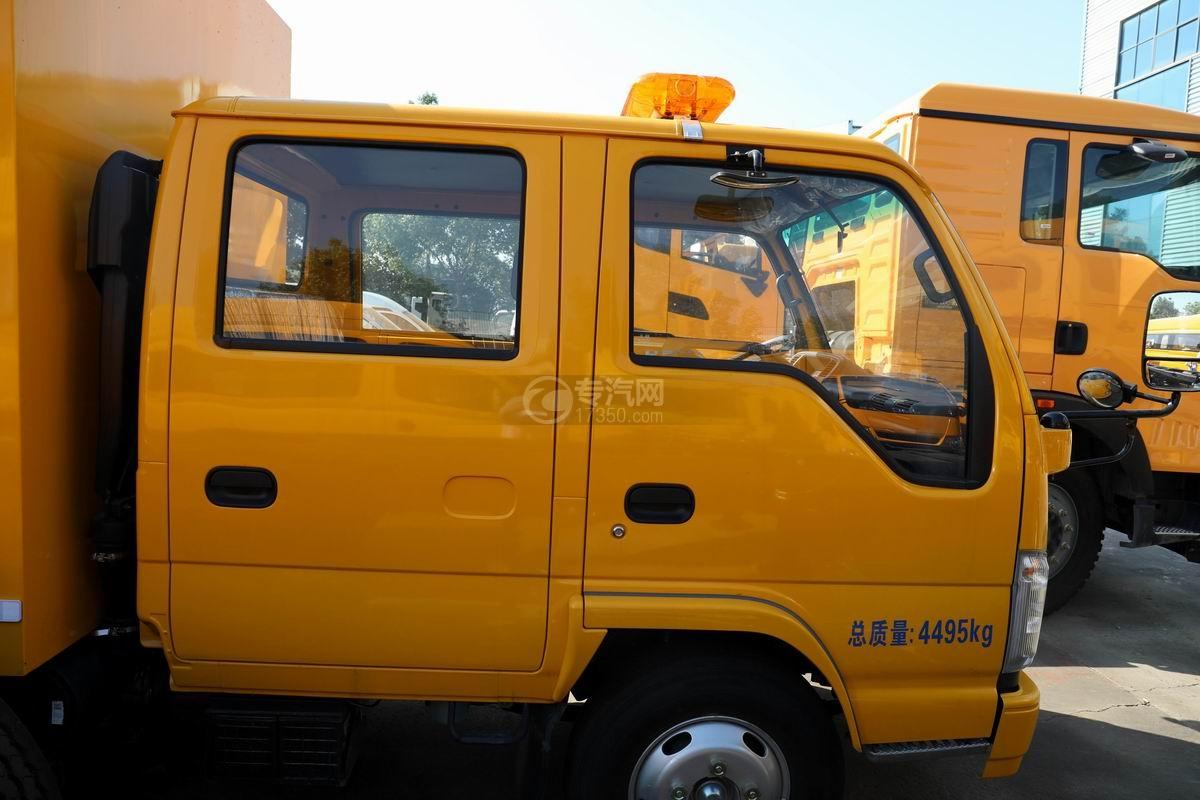 慶鈴五十鈴ELF雙排國六救險車雙排駕駛室