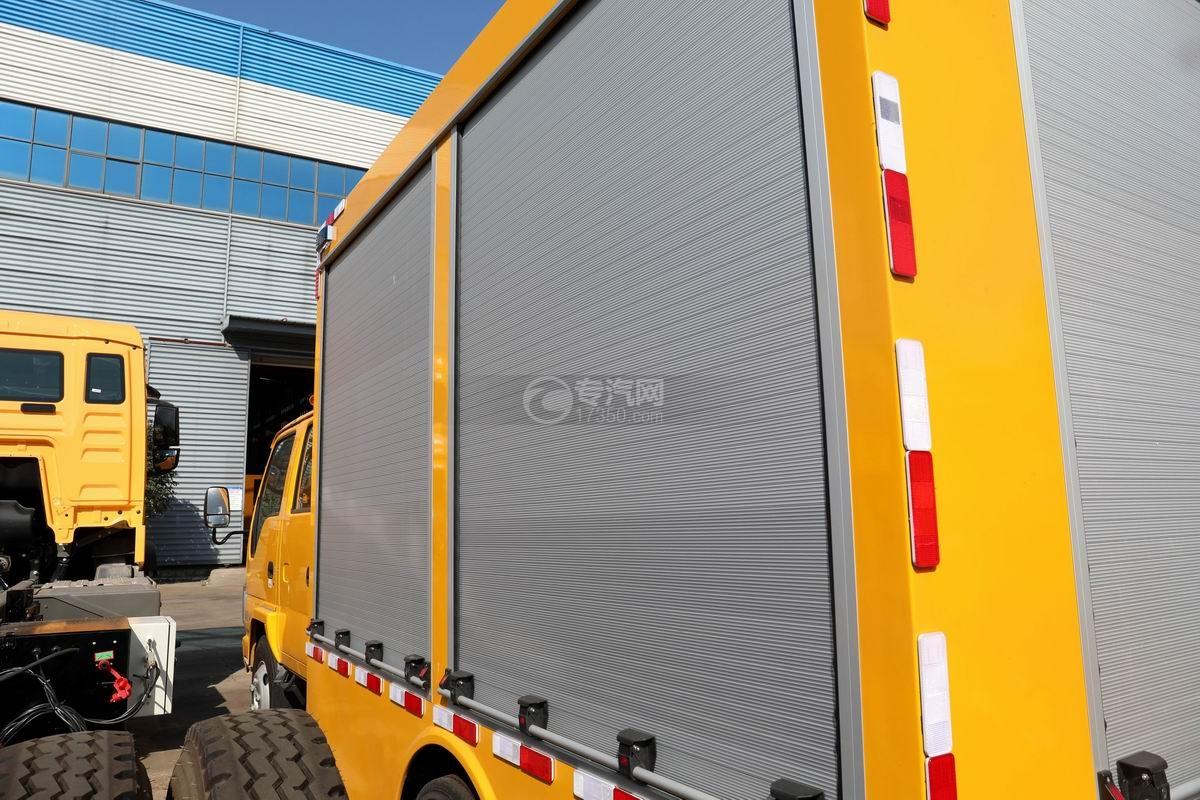 慶鈴五十鈴ELF雙排國六救險車上裝箱體
