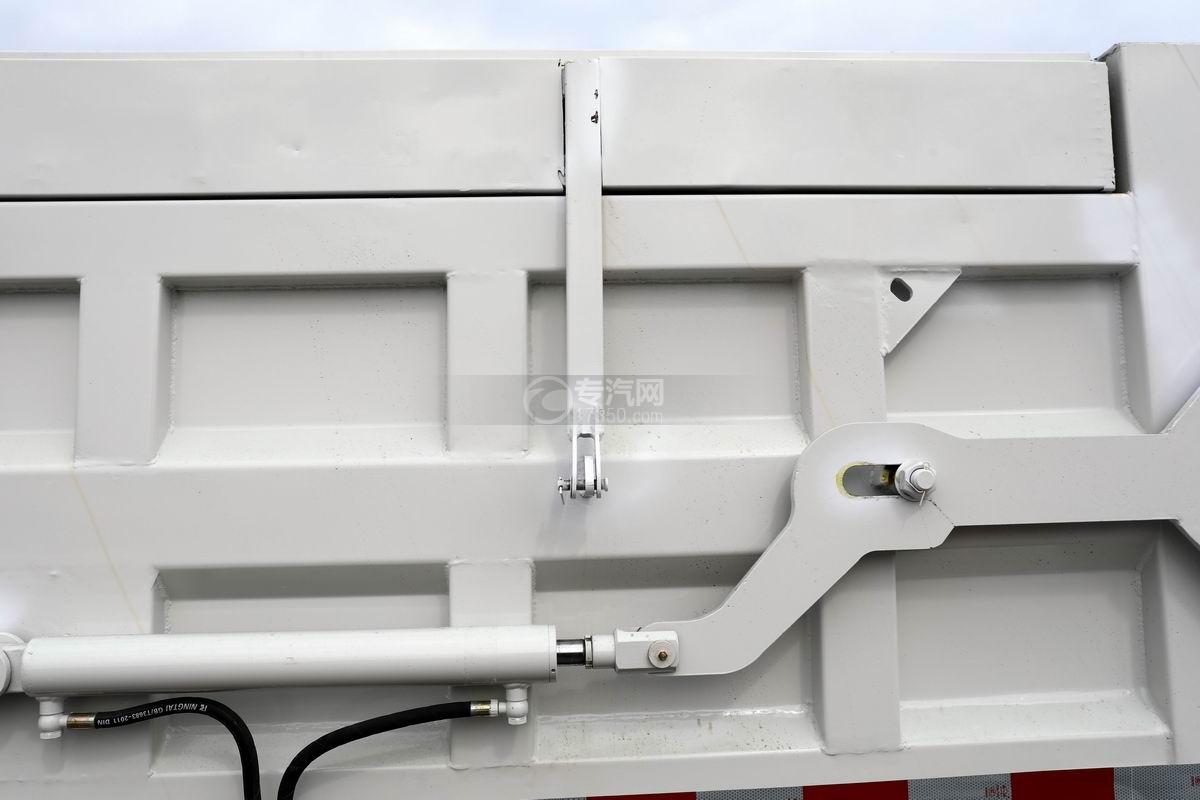 奧馳X2廂式垃圾車箱體支架