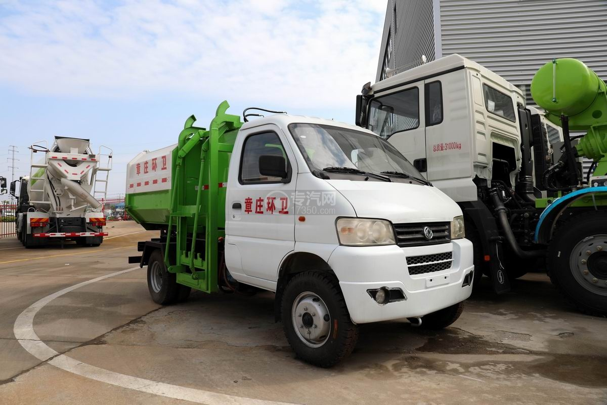 东风小康国六自装卸式垃圾车图片