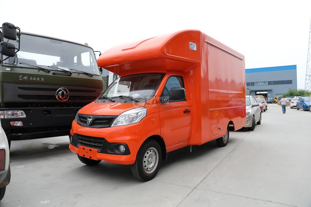 福田祥菱V1国六售货车(橙色)