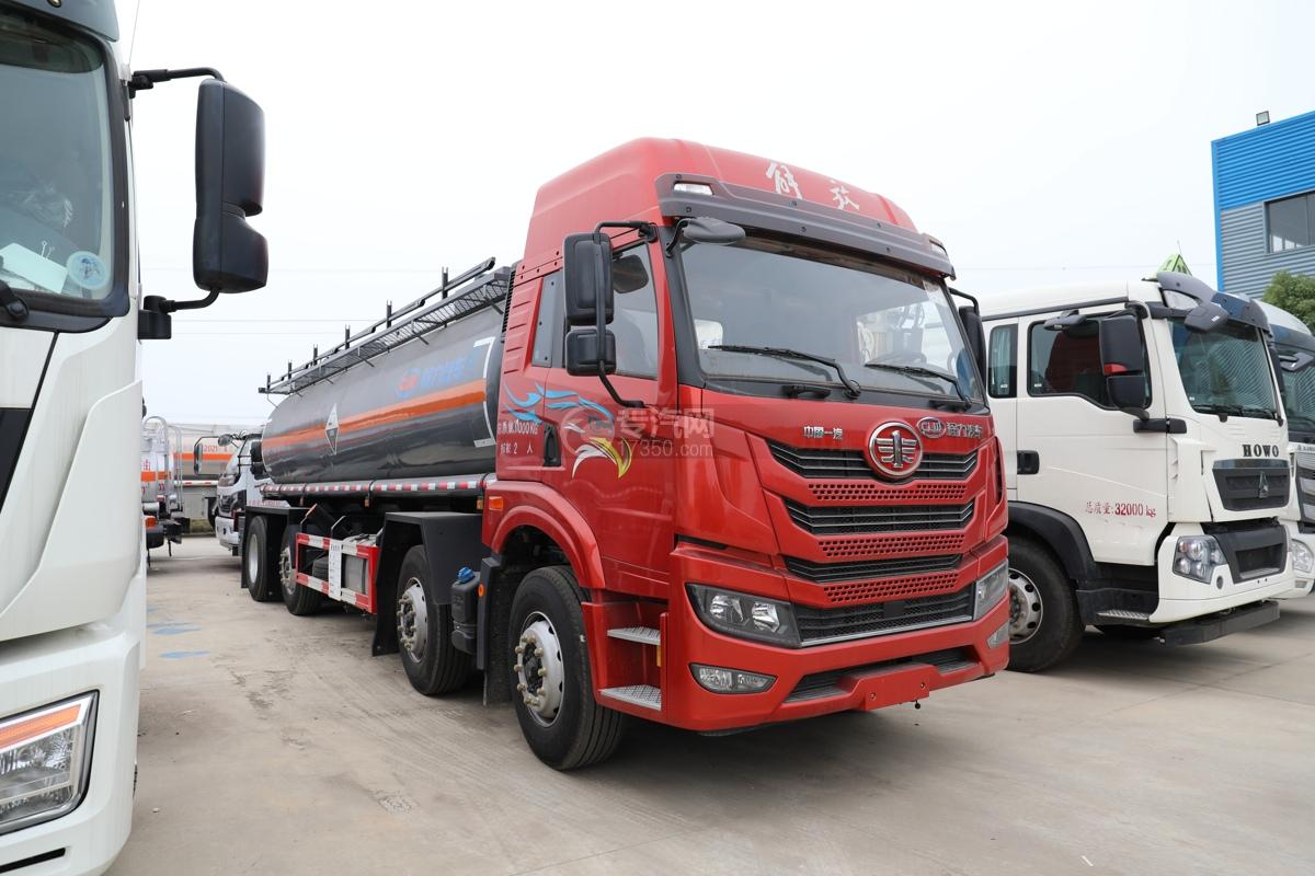 解放新悍V2.0前四后六国五18.1方腐蚀性物品罐式运输车