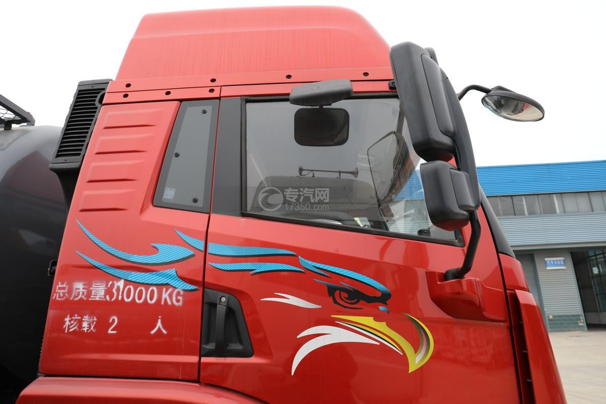 解放新悍V2.0前四后六国五18.1方腐蚀性物品罐式运输车地视镜