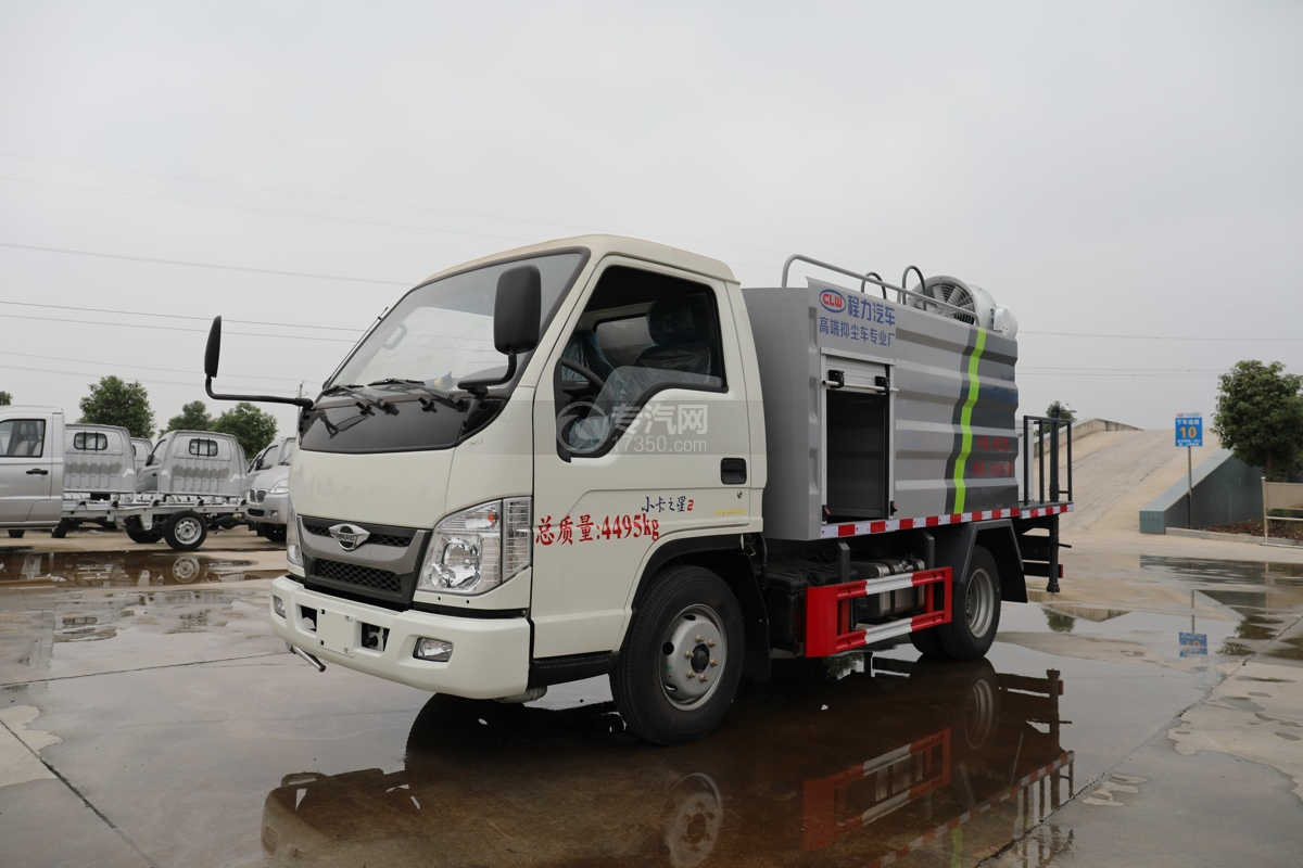 福田时代小卡之星2国六30米多功能抑尘车